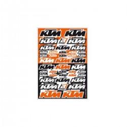 ΑΥΤΟΚΟΛΛΗΤΑ ΚΑΡΤΕΛΑ BLACKBIRD KTM